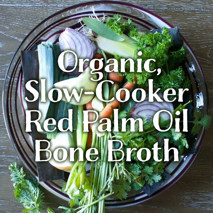 Organic, Slow-Cooker Red Palm Oil Bone Broth kitchen.nutiva.com http://kitchen.nutiva.comorganic-slow-cooker-red-palm-oil-bone-broth/?utm_content=buffer4e55a&utm_medium=social&utm_source=pinterest.com&utm_campaign=buffer