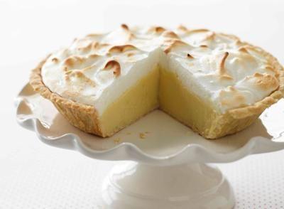 Recette de Tarte meringuée au citron et au chocolat blanc