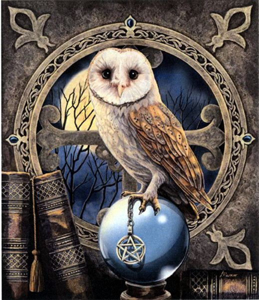usa handbags The Spell Keeper Cross Stitch Pattern   Pale plumage and a compelling gaze lend an aura of mystery to this nocturnal visitor  as he perches atop a clear crystal ball  What visions has he seen in its depths  Based on artwork by Lisa Parker  This design measures 525 stitches wide by 612 stitches high  Pattern is 49 pages