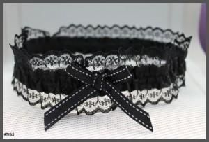 Classy Black Sexy Lace Garters