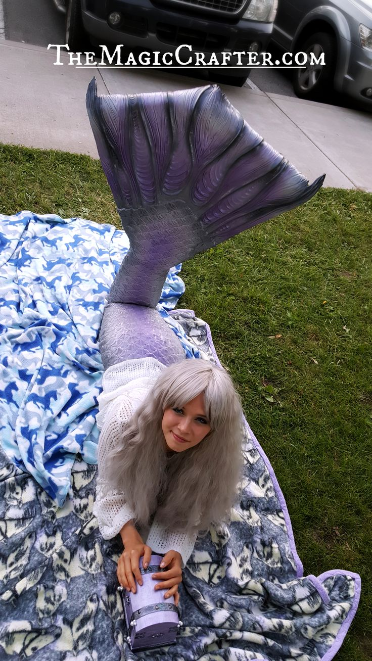 Professional Mermaid, Phantom, loves spending time with the locals. Sometimes she can be seen hanging out on land listening to the music with the townsfolk of Leelanau County. She likes to take her treasure chest with her too, so that she can share her mermaid treasures with fellow lovers of the beach life. ♥ CLICK the image to watch a video of her swimming in Grand Traverse Bay! ♥  #SiliconeMermaid #ProfessionalMermaid #mermaid #tails #Real #RealMermaids #mermaids