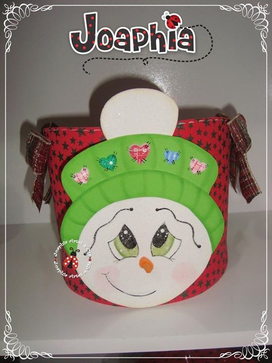 porta panetone de navidad navidad foamy gomaeva foami fomi