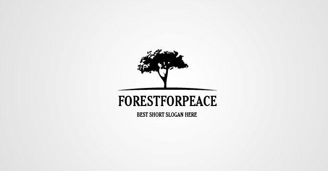 Forest for pease - Logotypes - Freelance designer Maxim Orlovsky ...