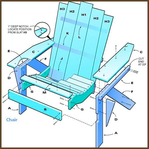 34 best images about adirondack chair plans on pinterest for Adirondack house plans