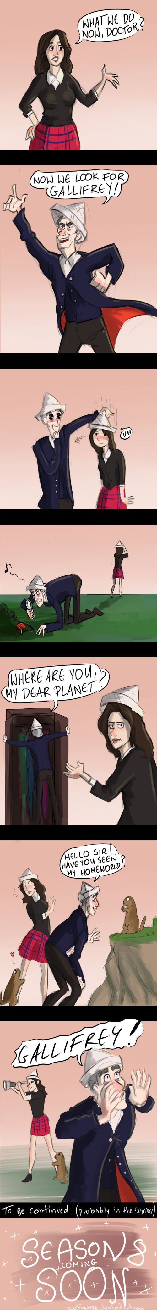 Finding Gallifrey by Fonora ^^This fandom...<<<<Dear Timelords of Gallifrey this fandom needs help