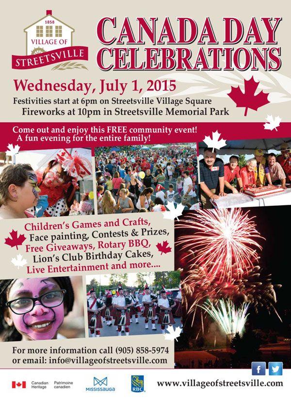 Streetsville Canada Day Celebrations