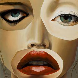 Annie  oil canvas