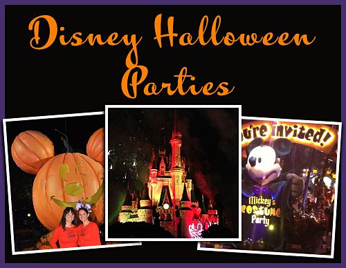 Tips for Disney Halloween Parties