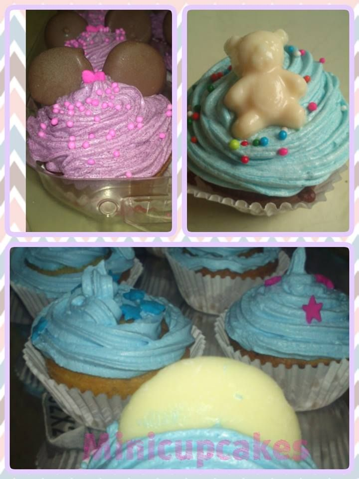 Minicupcake baby Shower