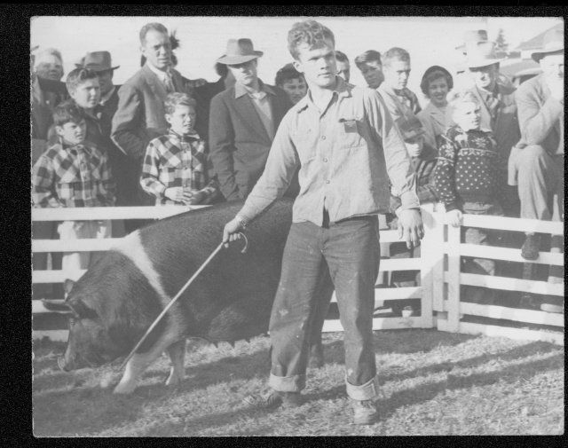 Auburn Chapter of the Future Farmers of America circa 1945.
