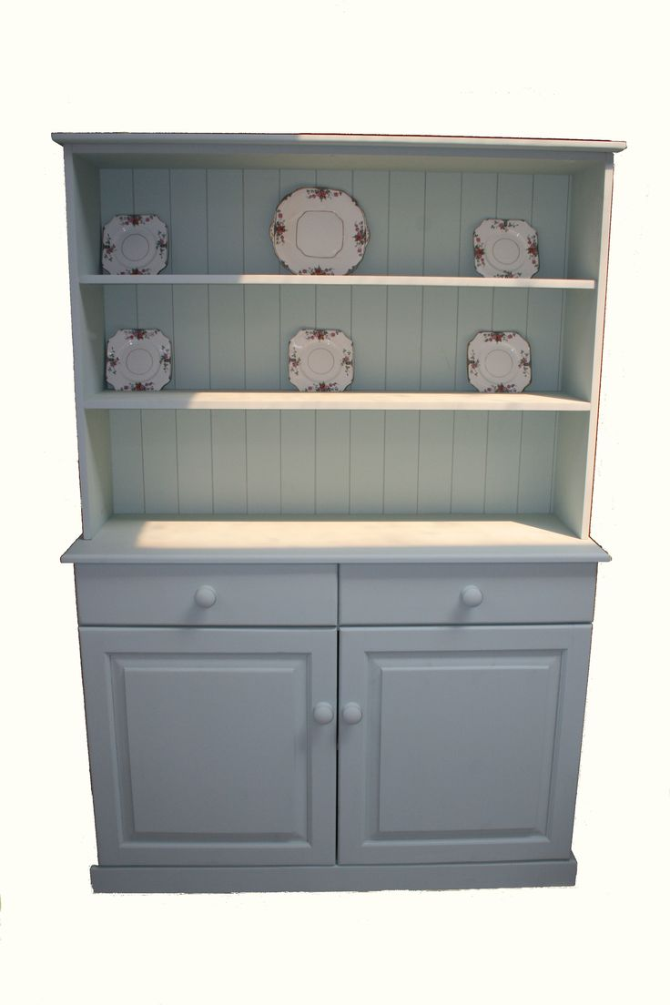 Painted hand made Welsh dresser: http://www.pinewelshdressers.co.uk/