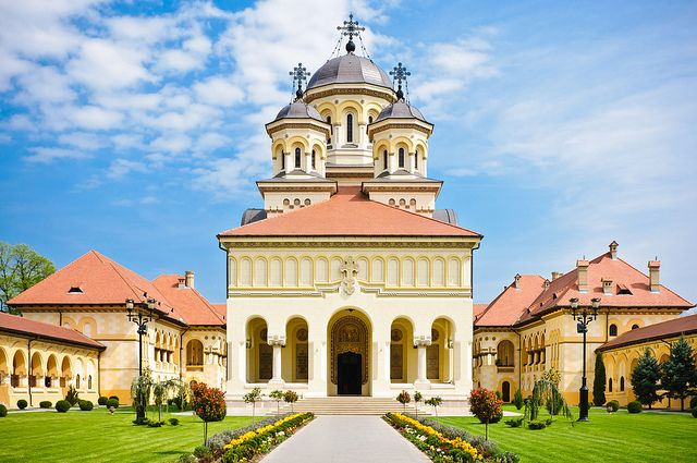 Coronation Cathedral, Alba Iulia, Romania
