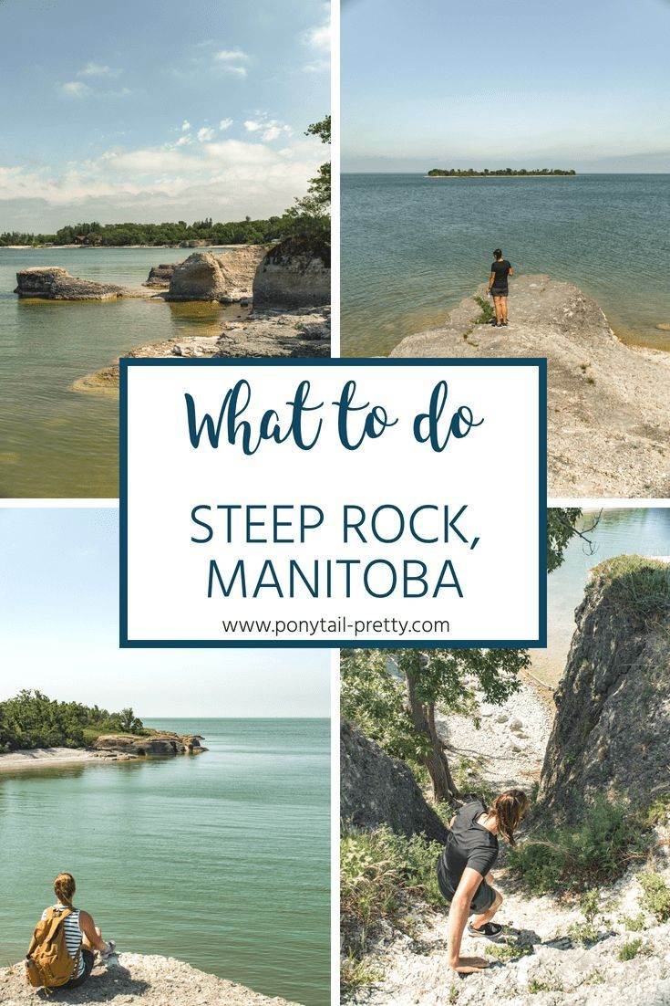 Located 3 Hours North Of Winnipeg Steep Rock Is A Gem In The Province Of Manitoba With Gorgeous Bluegreen Water Steep Rock Manitoba Travel Canada Travel Guide