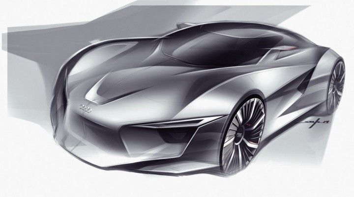Audi Concept Design Sketch by Young-Joon Suh