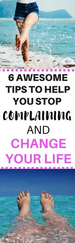 how to stop complaining and be more positive
