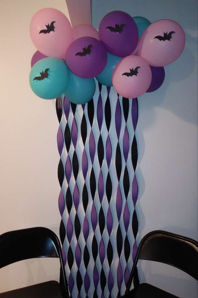 Vampirina Birthday Party Ideas Decoracion Fiesta Cumpleanos
