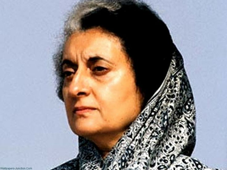 Indira Gandhi was an Indian politician and central figure of the Indian National Congress party: born in 1917 and died in 1984. She was the first and to date the only female prime minister of India.