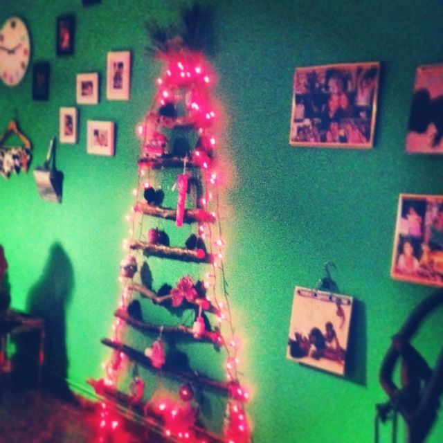 Favorite and separate Christmas tree! Christmas 2013!