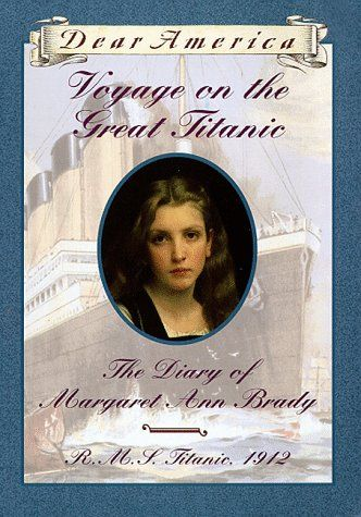 Fantastic Book, fantastic series. If you have a daughter that is a bit nervous about history, start her on this book. Everyone gets caught up in the story of the Titanic, and this one will swallow your daughter, and start a love of history. It did for me :)