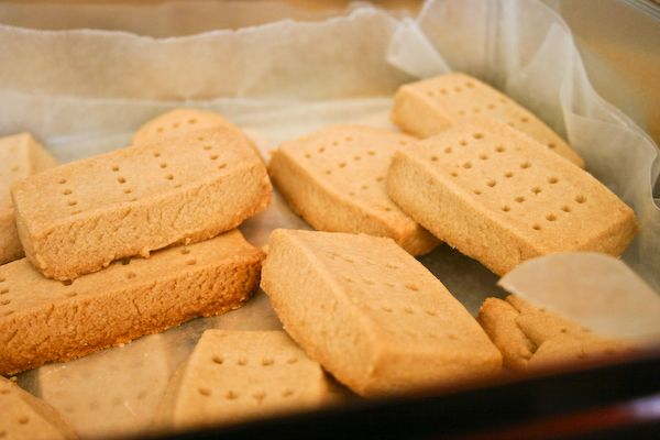 """brown sugar shortbread 
