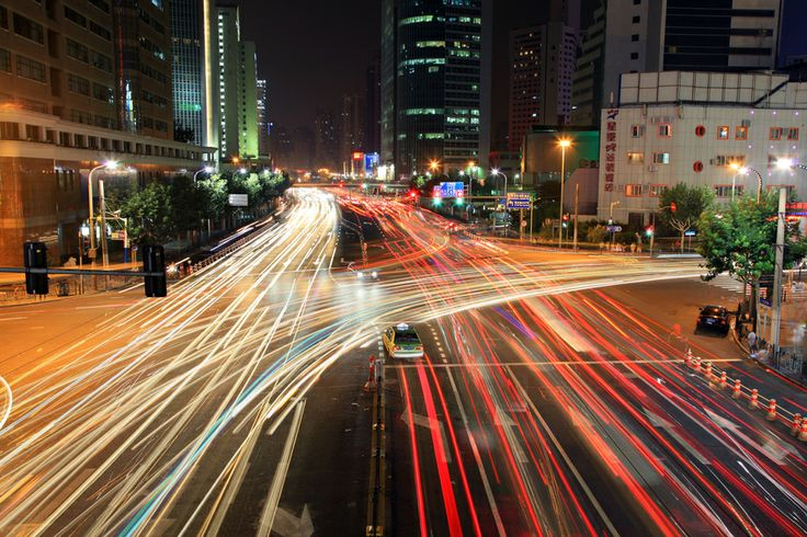 "500px / Photo ""night traffic"" by Maxim Solodov - via http://bit.ly/epinner"
