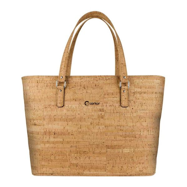 Vegan Tote Bag Rustic for women in dark brown color, an Eco Friendly and leather-free product. Make some shopping for cork handbags and totes.