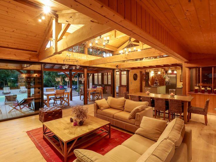 32 best Villa bois images on Pinterest Cap du0027agde, Ferrets and Log