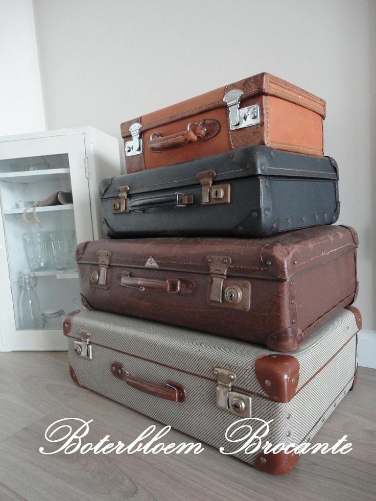 meer dan 1000 idee n over oude koffers op pinterest. Black Bedroom Furniture Sets. Home Design Ideas