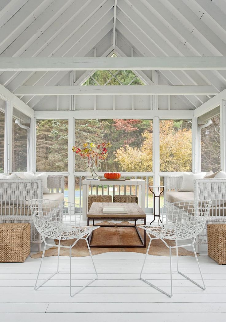 84 best porches and patios images on pinterest decks for Porch interior ideas uk