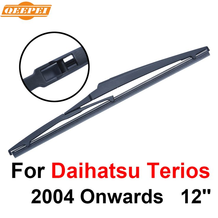 QEEPEI Rear Wiper Blade No Arm For Daihatsu Terios 2004 Onwards 12'' 4 door wagon High Quality Iso9000 Natural Rubber A1-30 #Affiliate