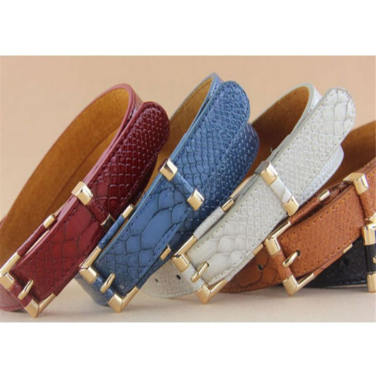 Durable Belts For Women Faux Leather Women Belt Woman Luxury Belt