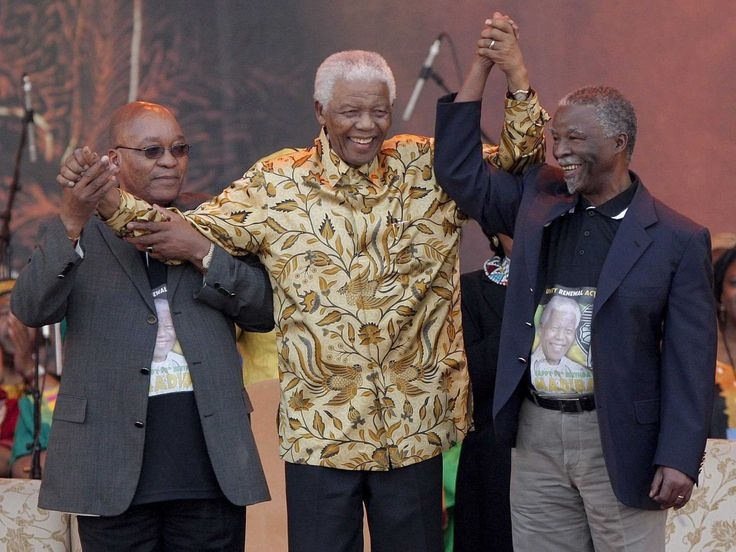 "Top News: ""SOUTH AFRICA: '2005 Jacob Zuma Not Fired As ANC Deputy President' - Thabo Mbeki"" - http://www.politicoscope.com/wp-content/uploads/2016/01/South-Africa-Top-Headline-News-Jacob-Zuma-left-Nelson-Mandela-center-and-Thabo-Mbeki-right.jpg - Thabo Mbeki: ""The truth, as I can recollect, is that Comrade Zuma had decided to stand down as deputy president of the ANC – at least for a while.""  on Politicoscope - http://www.politicoscope.com/south-africa-2005-jacob-zuma-not"