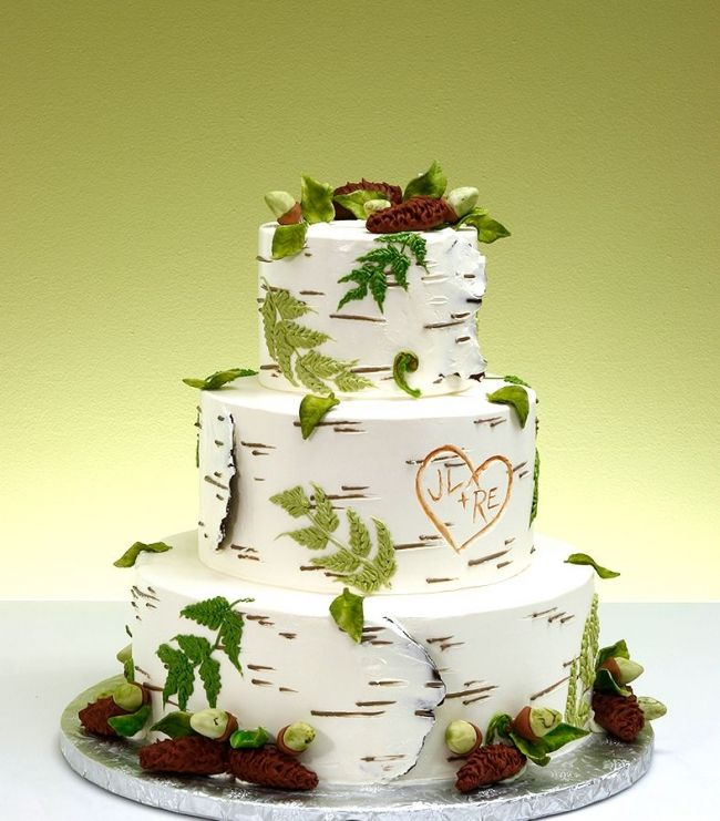 Ultimate Nature Wedding Cake! Awesome!
