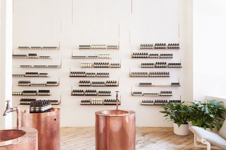 Interior - Aesop store in San Francisco Jaskson Square by Tacklebox