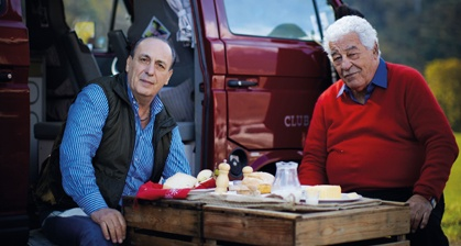 Two Greedy Italians - with Gennaro Contaldo and Antonio Carluccio.. LOVE IT