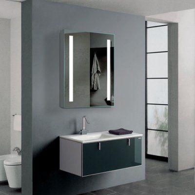 Marvelous Paris Mirror Verano Cabinet Illuminated LED Bathroom Mirror CVER