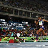 How Shaunae Miller Was Able to Beat Allyson Felix by Falling at the Finish Line