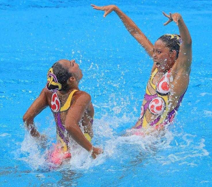 リオデジャネイロオリンピック シンクロナイズドスイミング デュエットでは、乾友紀子・三井梨紗子ペアが 2 大会ぶりとなる銅メダルを獲得!リオ五輪