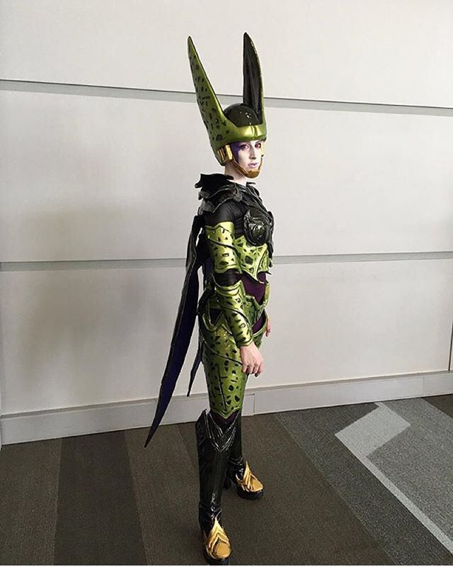 @otakuteart in  her legendary Cell cosplay 👏👏👏🙌🙌🙌   #cell #cellcosplay #dbz #dragonball #cosplay #cosplayer #instalike #incredible #instacomics #instafollow #follow #gorgeous #great #beautiful #epic #amazing #awesome #magnificent #wow #cool #dragonballzcosplay #galacticgamer
