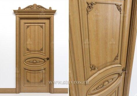 Резная дверь GRD-041 - Ставрос