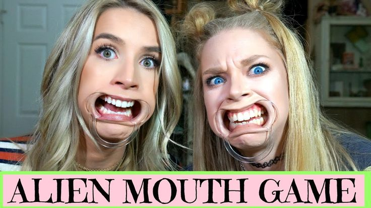 ALIEN MOUTH GAME WITH GRAV3YARDGIRL