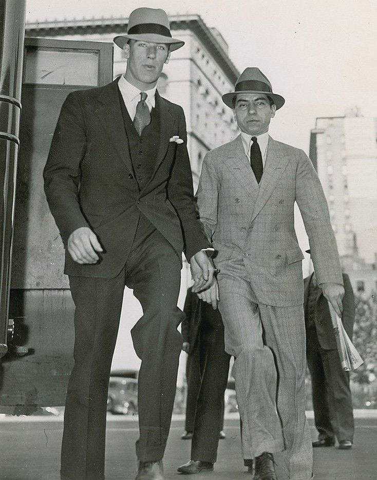 Mayer Lansky Lucky Luciano
