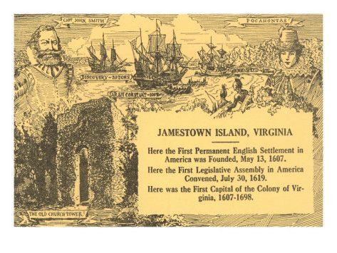 Early Settlers of Colonial Virginia