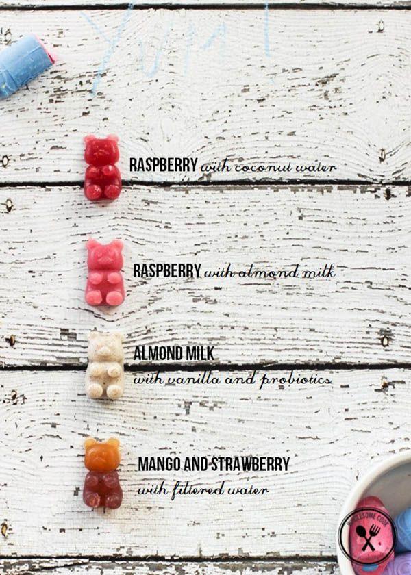 Homemade Sugar Free Gummy Bears | The Junior