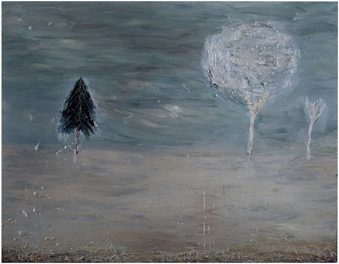 "Nanna Susi, 2011: ""Out at Night"",160 x 180 cm (oil on canvas)"