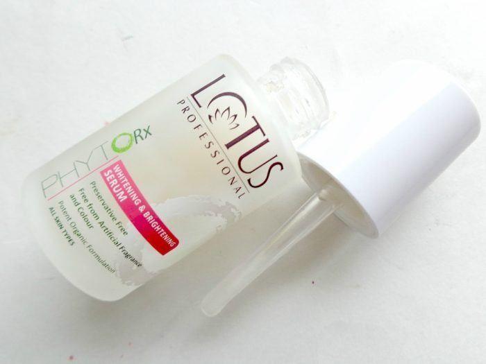 Lotus Professional Phyto-Rx Whitening and Brightening Serum Packaging