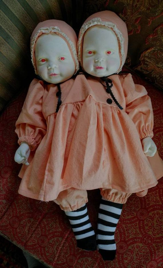 Check out this item in my Etsy shop https://www.etsy.com/listing/510624579/ooak-conjoined-twins-art-doll