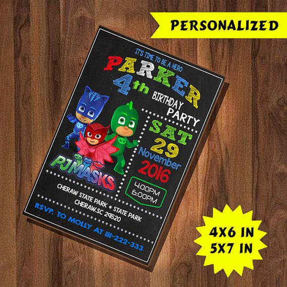 This listing is for a digital file invitation personalize with your event details ordeer  Add invitations to your trolley. During checkout, please include the information below in the NOTE TO SELLER box exactly as you want it to appear on your invitation: > Name of Child > Age Children > Date and Time Party > Location / Address Party > Information RSVP > Size Invitations (4x6inch or 5x7inch) > Please attach photos In Conversation Etsy,or email sarmilasari47@gmail.com  If Invitation require…