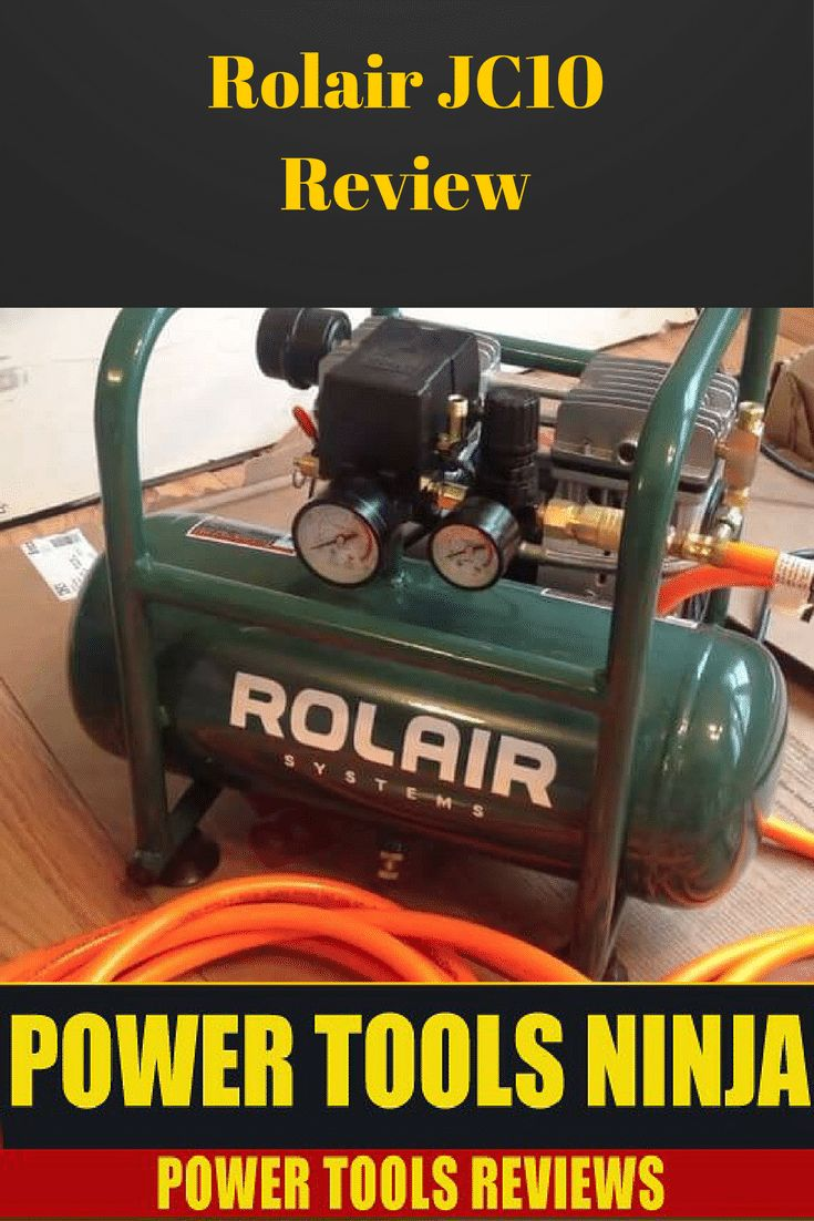 Rolair JC10 1HP OilLess Air Compressor Review My