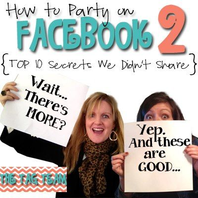 How to Party on Facebook- PART TWO Whoop! Whoop!!!  Playback available in our shop!  www.tagteampartyp... Just $24.99